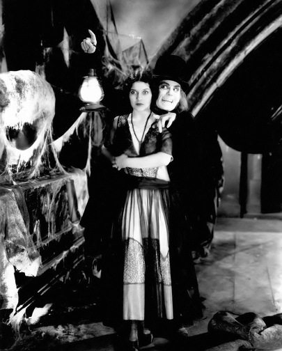 Marceline Day with Lon Chaney in London After Midnight, 1927