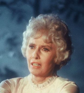 Stanwyck in THE HOUSE THAT WOULD NOT DIE 1970