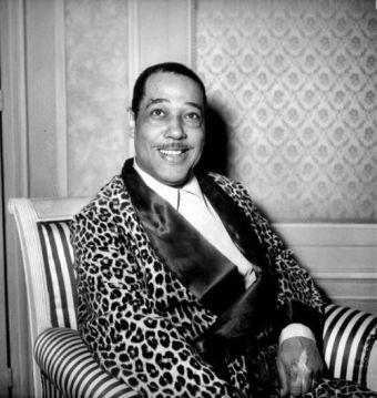 Duke Ellington musically stylin'