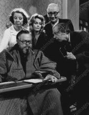 Mary Wickes, Orson Welles, Lee Remick, Edward Andrews. Don Knotts in the 1970 TV version of The Man Who Came to Dinner