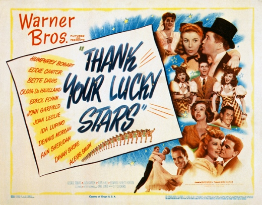 Image result for thank your lucky stars poster
