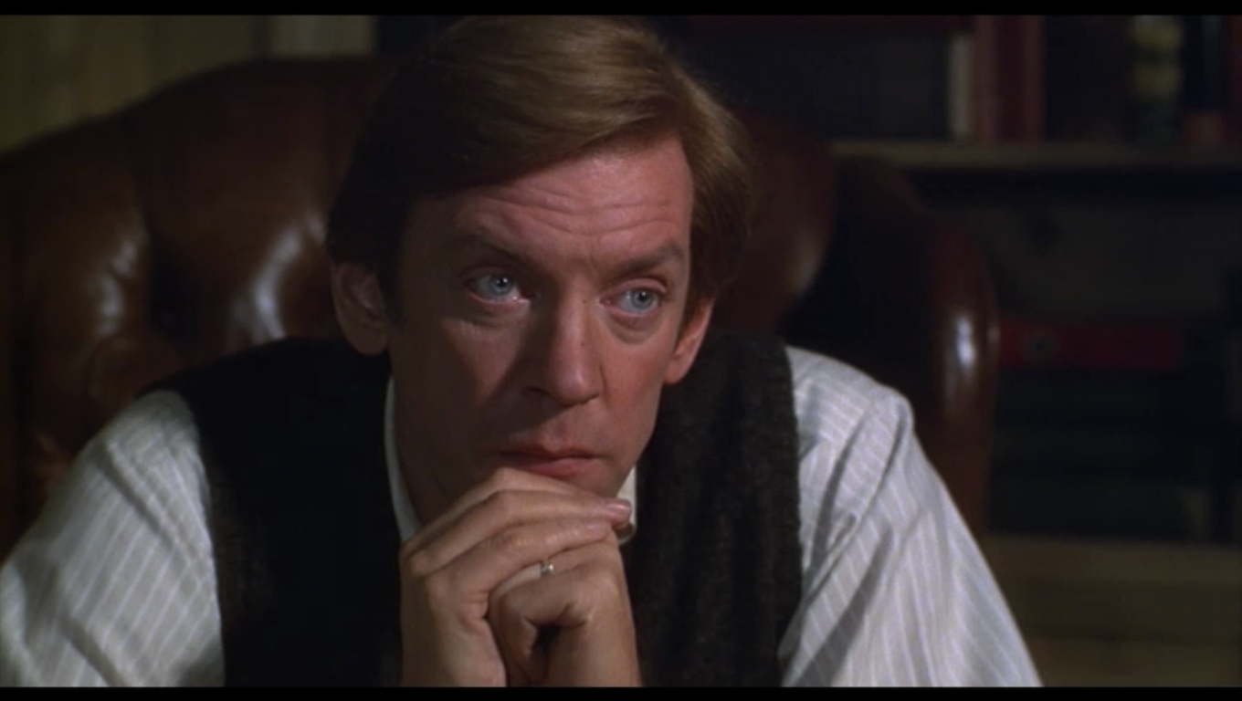 Donald Sutherland in Robert Redford's ORDINARY PEOPLE (1980)