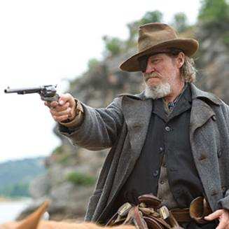 Jeff Bridges as Rooster Cogburn in TRUE GRIT 2010