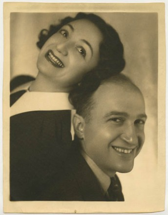 Molly Picon and Jacob Kalich, Vienna, 1923