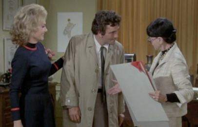 Columbo meets Edith Head