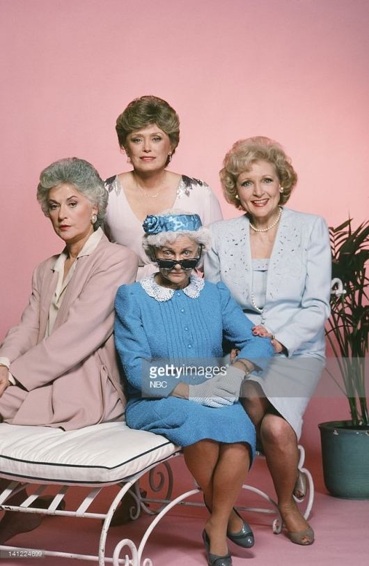 Bea Arthur as Dorothy Petrillo, Rue McClanahan as Blanche Devereaux, Estelle Getty as Sophia Petrillo-- Photo by: Herb Ball/NBCU Photo Bank