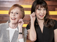 For Spotlight: Funny Ladies it's Cary Burnett and Illeana Douglas. Photo credit: TCM