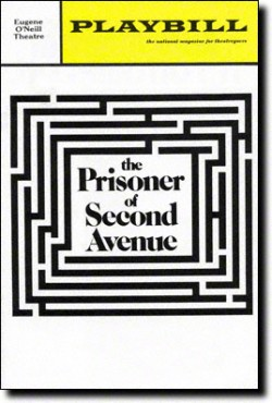 The Prisoner of Second Avenue Playbill, 1971