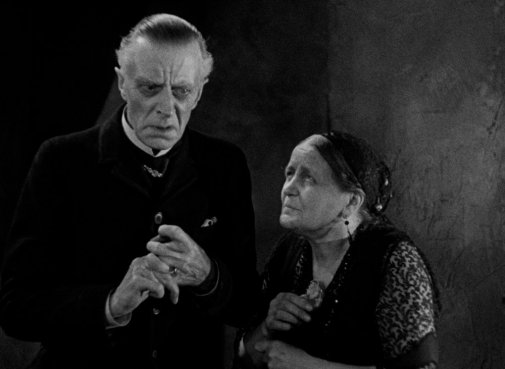 Thesiger and Moore in The Old Dark House