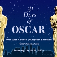 Announcement: 31 Days of Oscar Blogathon 2019