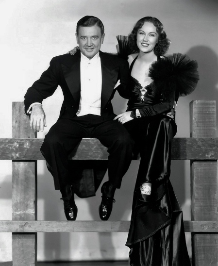 Richard Dix and Fay Wray in IT HAPPENED IN HOLLYWOOD