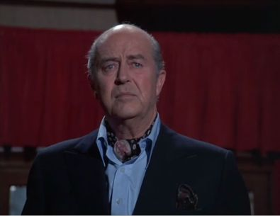 The great Ray Milland plays the victim's husband