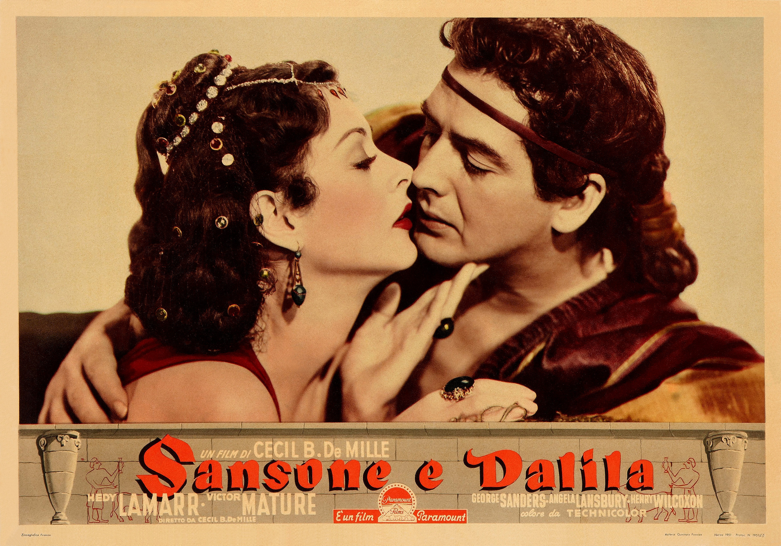 Review: SAMSON AND DELILAH, DeMille's Bible Movie About Sex