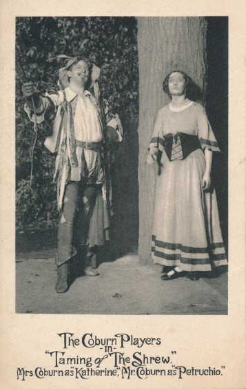 Cobrun and Wills in The Taming of the Shrew