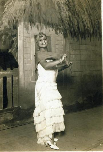 Cuban singer and actor, Rita Montaner