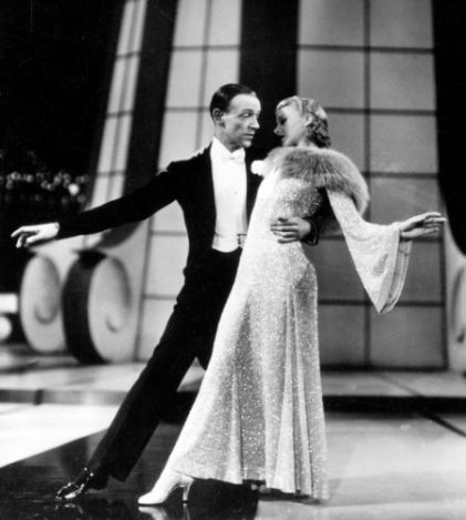 """Let's Face the Music and Dance"" Fred and Ginger"