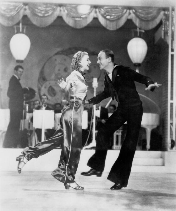 85 Years Of Fred Astaire And Ginger Rogers Once Upon A Screen