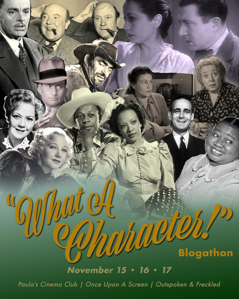 8th Annual WHAT A CHARACTER! Blogathon