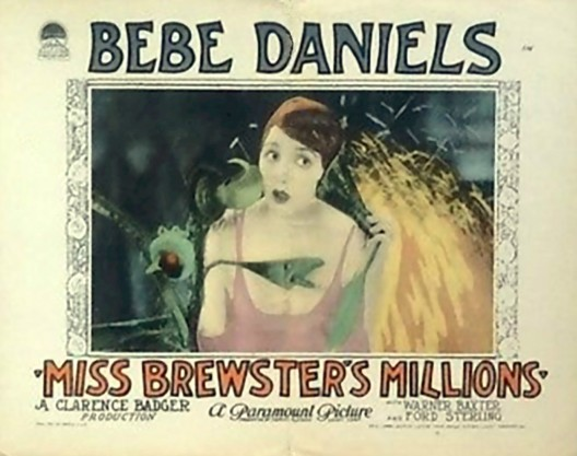 MISS BREWSTER'S MILLIONS (1926)