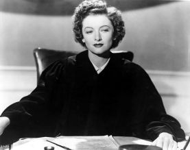 Judge Margaret Turner in The Bachelor and the Bobby-Soxer