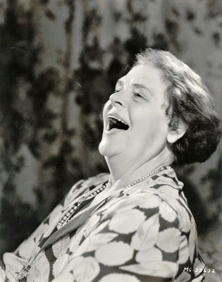 Marie Dressler, the Grandest Old Trouper of Them All
