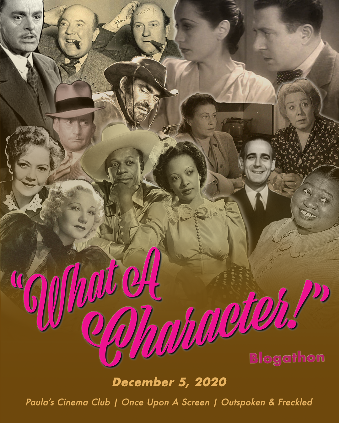 9th WHAT A CHARACTER! Blogathon