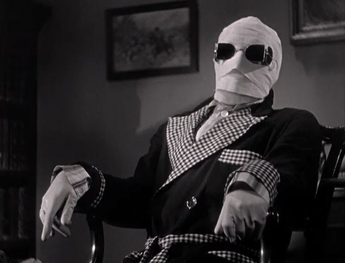 THE INVISIBLE MAN: From Wells to Whale