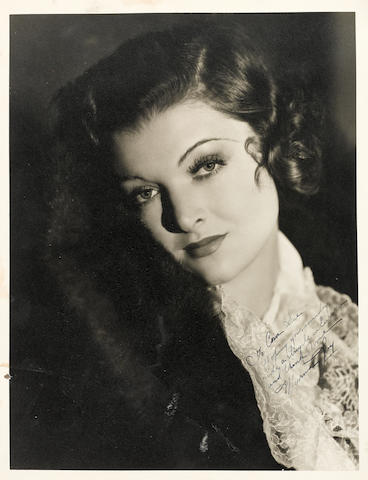 Being and Becoming Myrna Loy